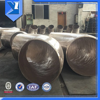 22.5 Degree Brass Butt Welding Pipe Fitting Elbow