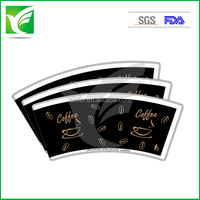 indonesia offset paper 220gsm large PE coated paper cup fan