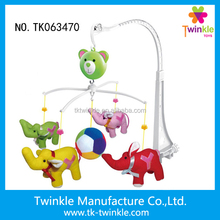 Wind up musical baby rattle bell toys for kids