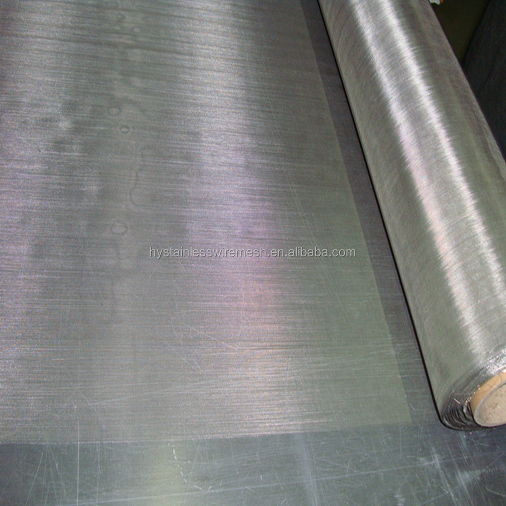 China supplier AISI304 stainless steel metal knitted wire mesh for sale