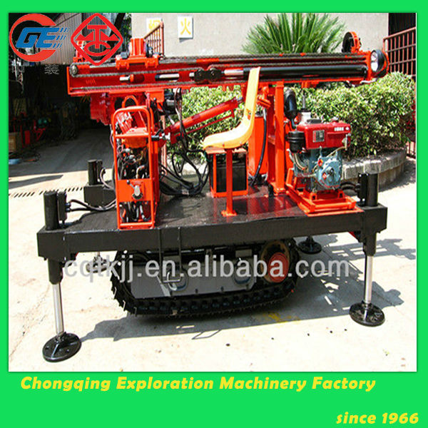 2014 Promotional Crawler Hydraulic Core Man Portable Drilling Rig