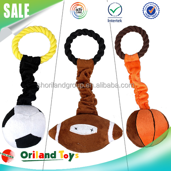 Pet product colorful ring stuffed pet dog toys for big dogs