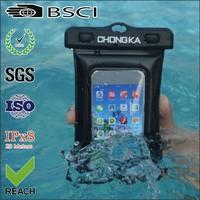 New product waterproof mobile phone pvc bag for smart phone