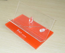 Shop Clear Orange Cheap Plastic Desktop Acrylic Single Electronic Cigarette Display Rack