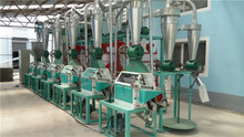 20-40TPD maize flour processing plant, electric corn grinder, grinding machine
