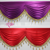 wedding decration wall drapes and curtains