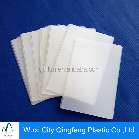 Book Mark Resin Clear Laminated Film From Factory