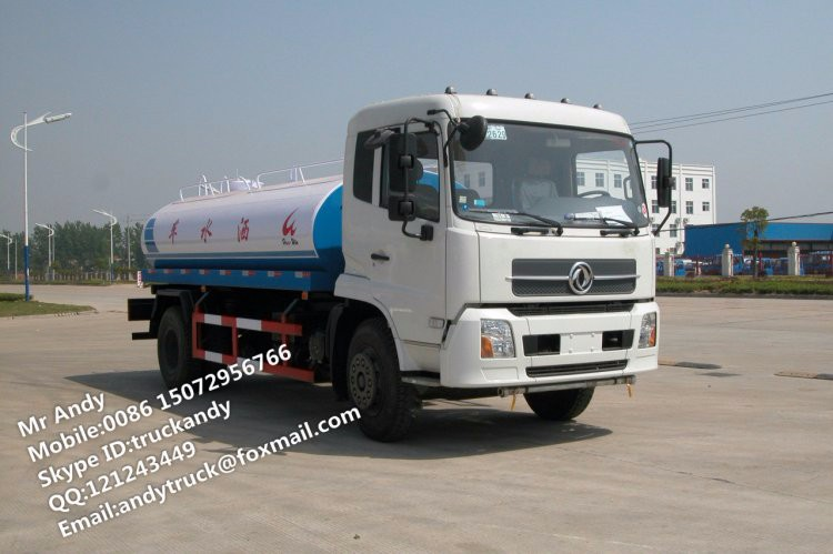 New Dongfeng drinking water tanker,drinking water tank truck