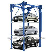 2-6 Levels Car Elevator Parking Systems Automated Car Parking Equipment Automatic Car Lift Parking