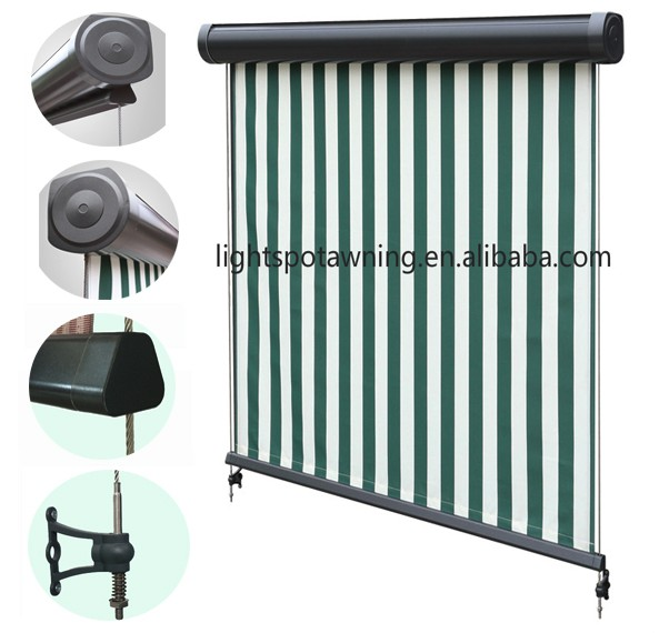Outdoor blinds and awnings