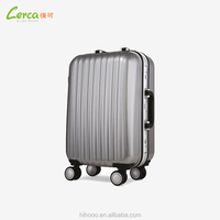 2016 Elegant Trendy Colorful ABS PC Hard Shell Spinner Luggage