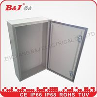 distribution box/electrical panels/control cabinet ip55 /ip55 wall mount metal enclousure