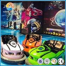 High quality and new style UFO used stainless steel bumper car