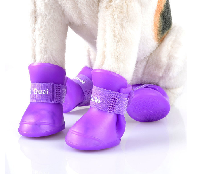 best selling model pet dog and cats Rainshoes Pet anti-skid boots in stock