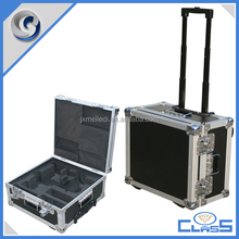 MLD-AC2548 High Grade Metal Butterfly Lock Pilot Trolley Case Aluminum Tool Box