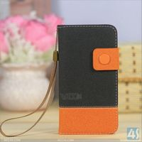 Hit color folio leather cover case for Blackberry Z10