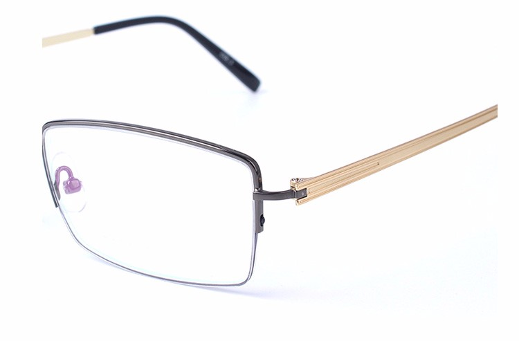 China Manufacturer Custom Made Half Frame Optical Eyewear Glasses