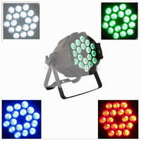 Professional excellent decorative waterproof 18*10w RGBW powered outdoor zoom led par light
