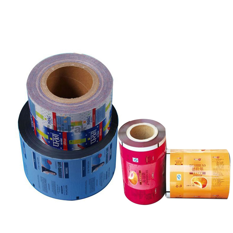 Colorful vivid printing Laminated Packing Film for snack package roll film