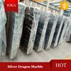 Silver Dragon Marble Slabs, Black and White Marble