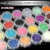 TSZS 24 colors nail art crushed shell dust powder set Decoration