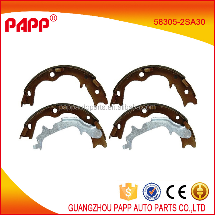 PAPP Auto parts brake shoes for Sportage oem 58305-2SA30