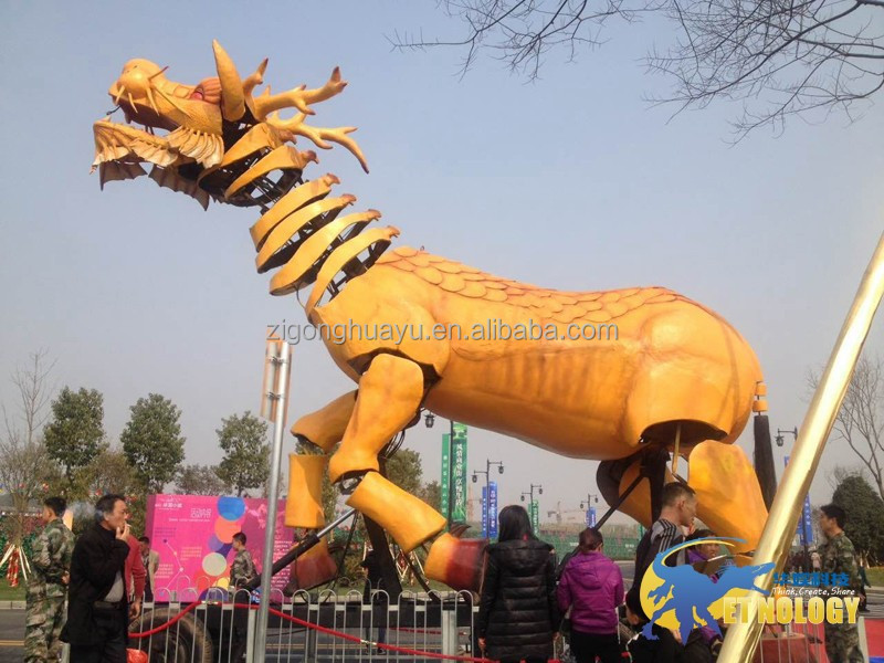 Cetnology High Attraction Dragon Horse for Mall/ Shopping/Promotion/Show