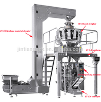 JT-420W factory price 50gram 500gram 1kg Automatic frozen food/ tea / Snack / dry food / sesame /corn bag packing machine