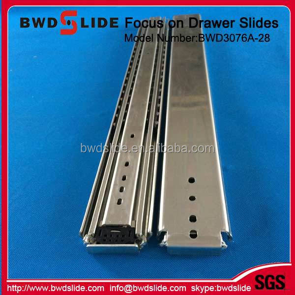 BWD3076A-28 500lbs loading draw slides heavy duty