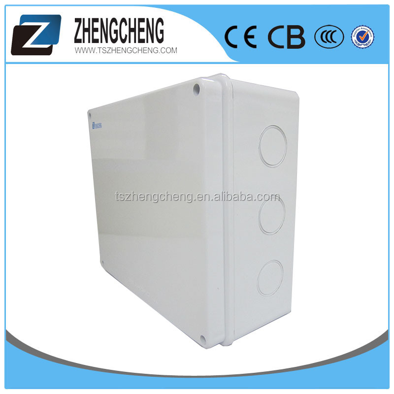 Customized plastic Ip65 Single Door Electrical Distribution Panel