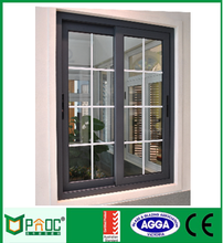 Double glazed australia standard Prefab house modern aluminium sliding window with AS2047
