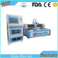 model ecnomic NC-3015 500W laser fiber cutting machine cutting stainless carbon steel