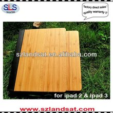real wood case for ipad IBC07