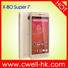 X-BO Super 7 MTK6572W Dual core Android 4.4 WIFI GPS Flip cover Ultra Slim Dual SIM Android smart mobile phone