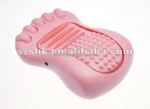 High quality foot massager wholesale retail ABS material unit massager CE ROHS tens unit foot massager