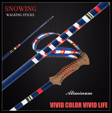 aluminum walking cane titanium walking sticks /walking poles