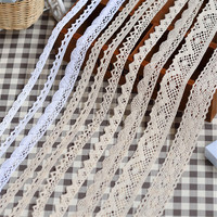 Knitted Trimming Cotton Lace With High Quality