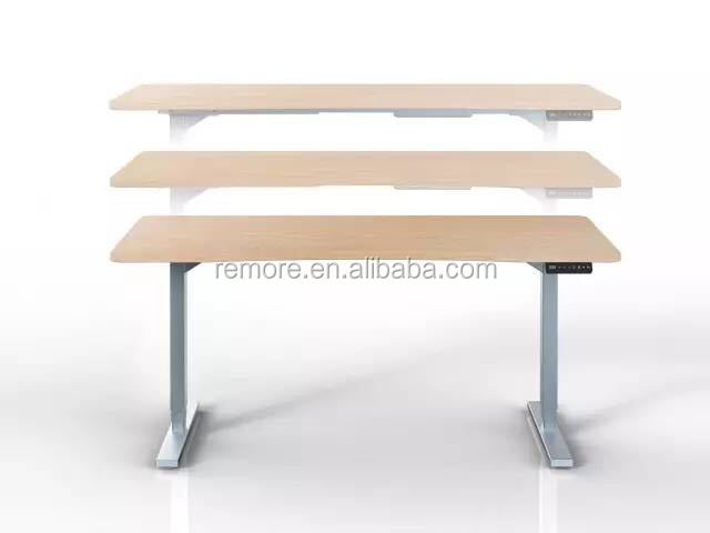 Two legselectrical height adjustable table frame with two legs