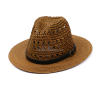Cheap Price Customized Straw Hat Cowboy Hat Fedora Hat