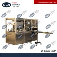 YC-350 Automatic bar soap wrapping machine