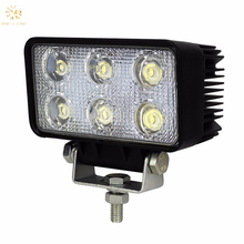 Hot Sales Driving Waterproof 12V/24V Square Work 18W Led Light Bar Truck