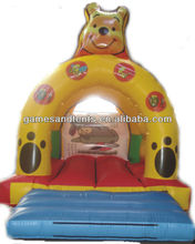 cheap inflatable toy bouncy house,inflatable bear trampoline A1121