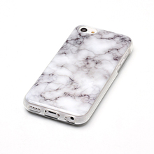 Very cute Virtual Reality Anti fading tpu mobile phone case Multicoloured marble for 5C