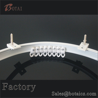 pvc plastic shower curtain ,home accessory plastic curtain,curtain rings hooks clips