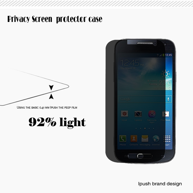 2014 New Product Clear Screen Protector for Sumsung Galaxy S4 mini