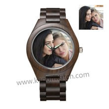 Diy Customized Wood Designer Watches OEM