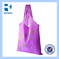 wholesale portable PVC foldabl shopping bag