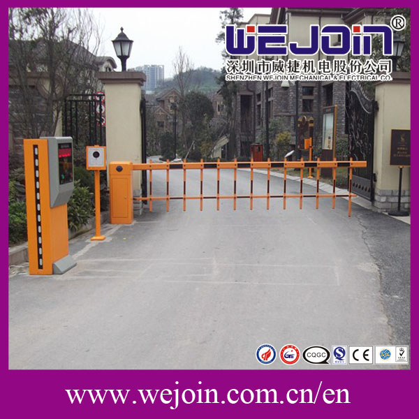 road barrier gate highway toll gate automatic barrier for road security and paking system
