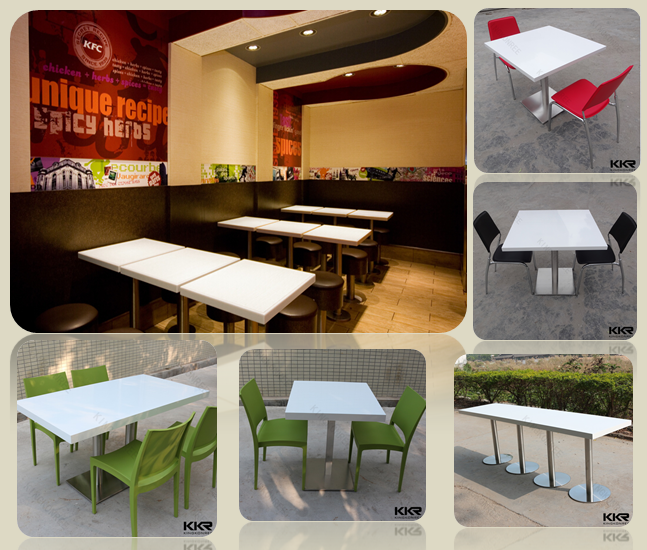 Customized Joint Seamless & Solid surface Office Table