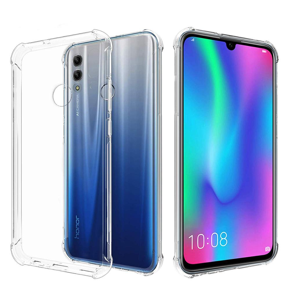 Soft TPU Cover with Shock Absorption Bumper Corners Full Protective Case for Huawei <strong>P</strong> Smart 2019